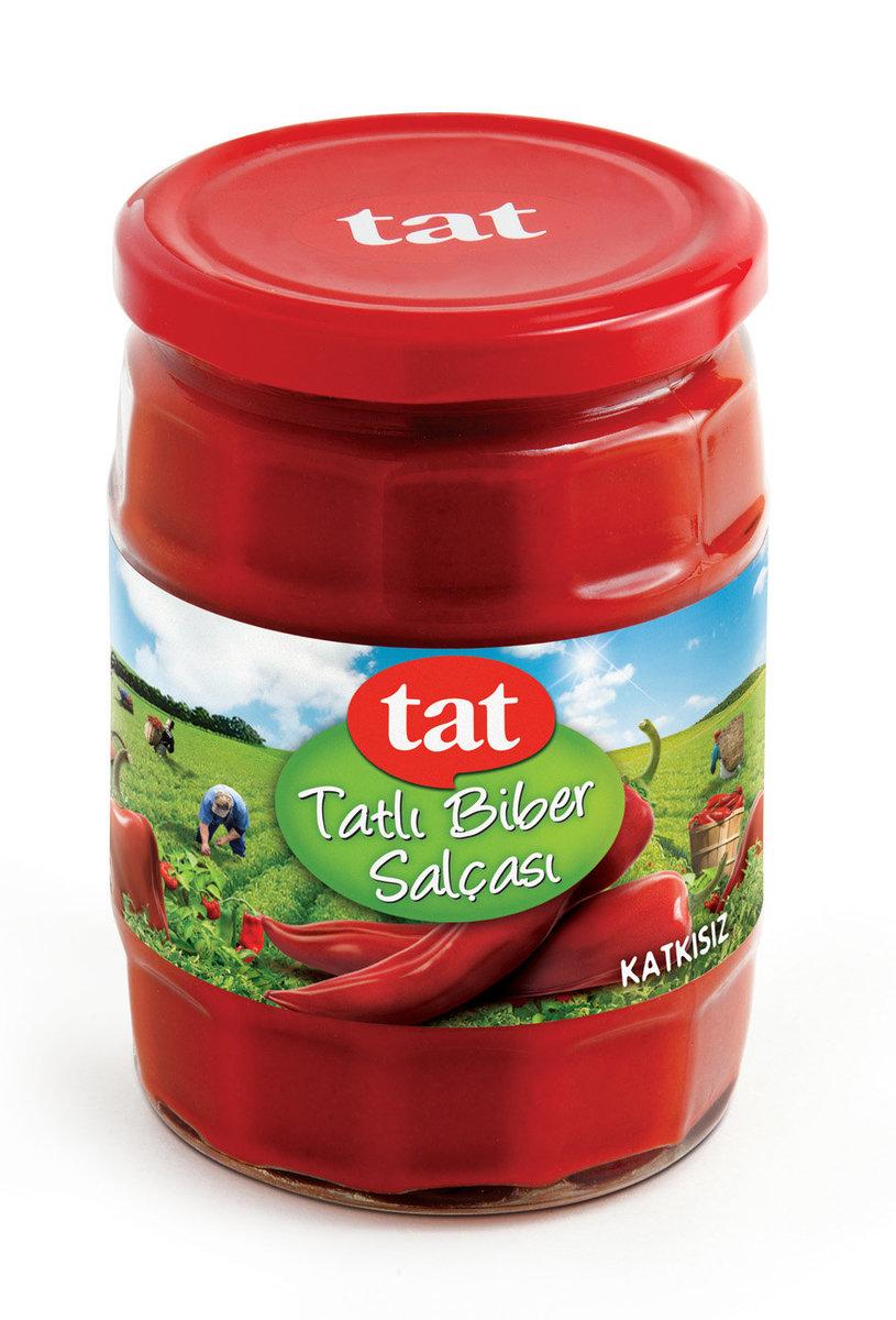 Red Pepper Paste - Mild 580cc Glass Jar Net Weight : 550gr