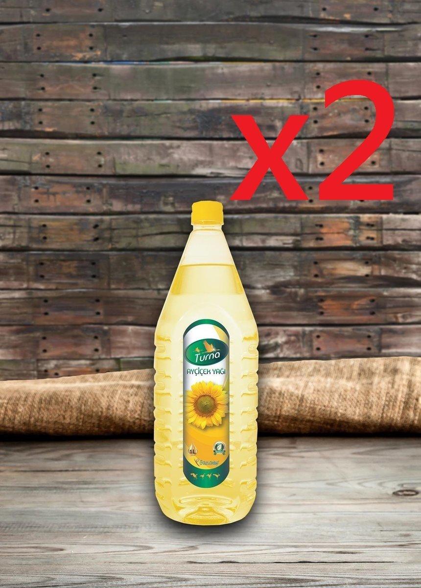 葵花籽油 精製 1公升 x 2樽
