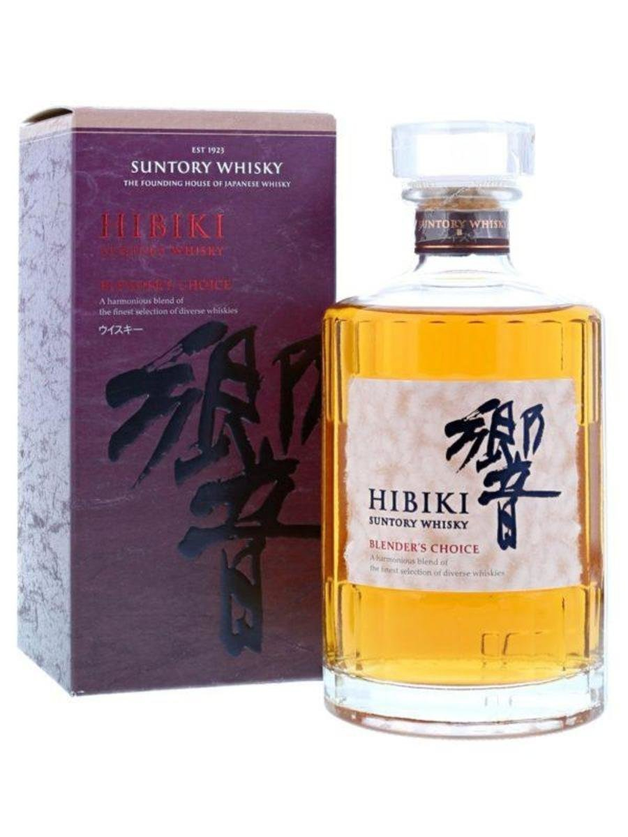 SUNTORY -Hibiki Blender's Choice (with box)