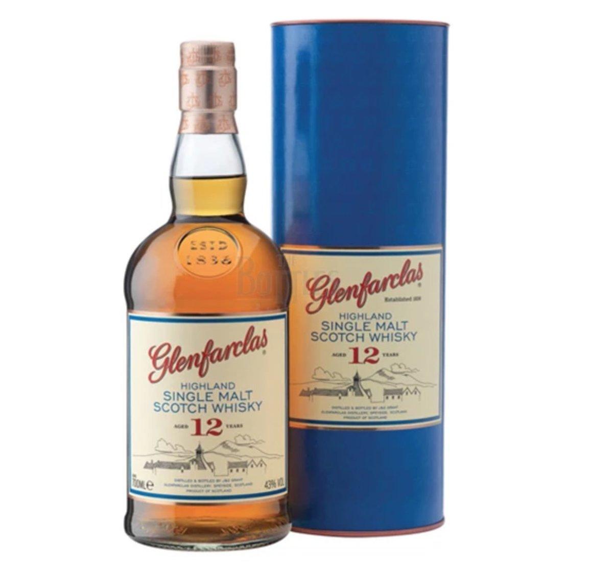Glenfarclas 12 Years Old Highland Single Malt Whisky
