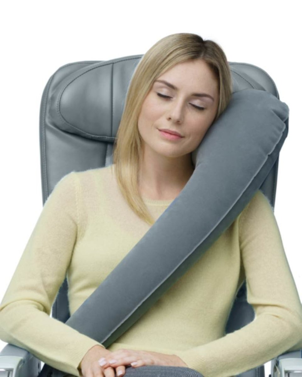 Ultimate L-Shape Inflatable Travel Pillow
