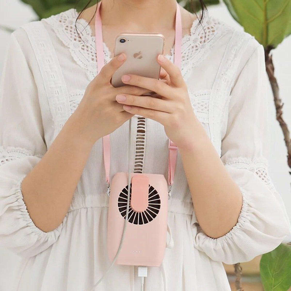 Mini Portable Outdoor Wristband Fan Electric Handheld