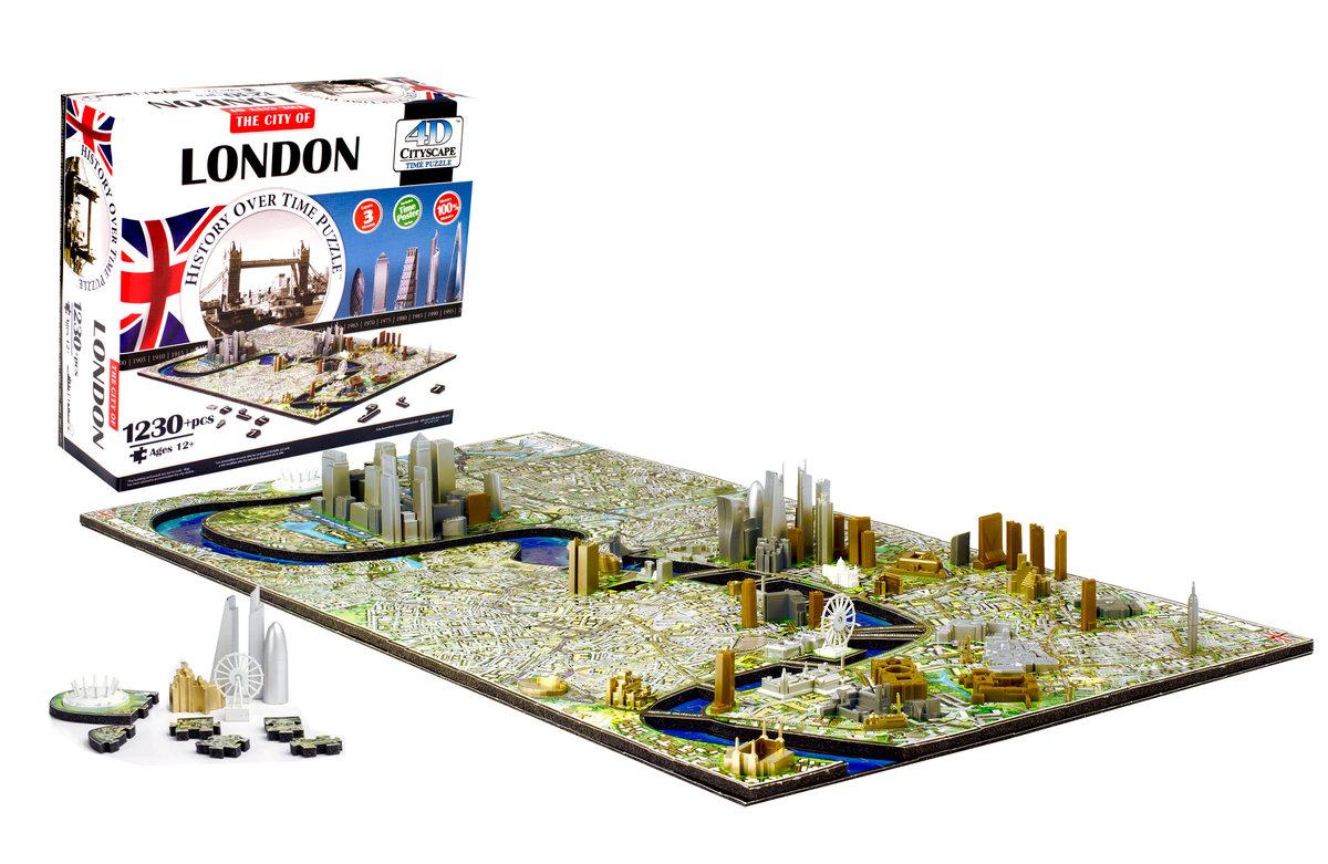倫敦時空立體拼圖