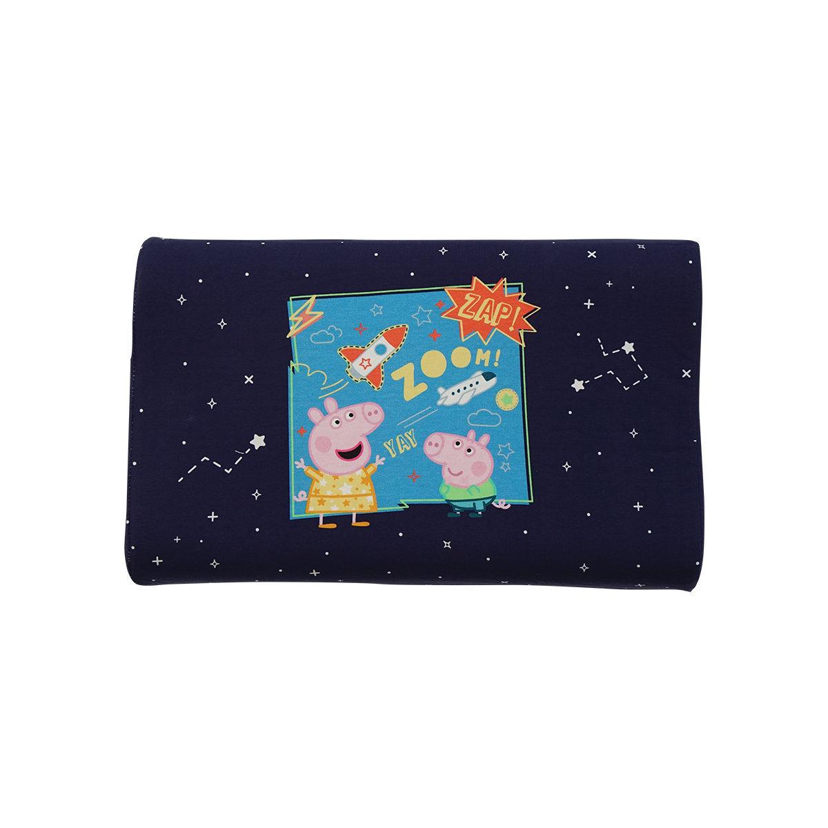 Peppa Pig U.6兒童枕 5-10歲-深藍 『透氣舒適、防塵防蟎、呵護頸椎!』泰國直送