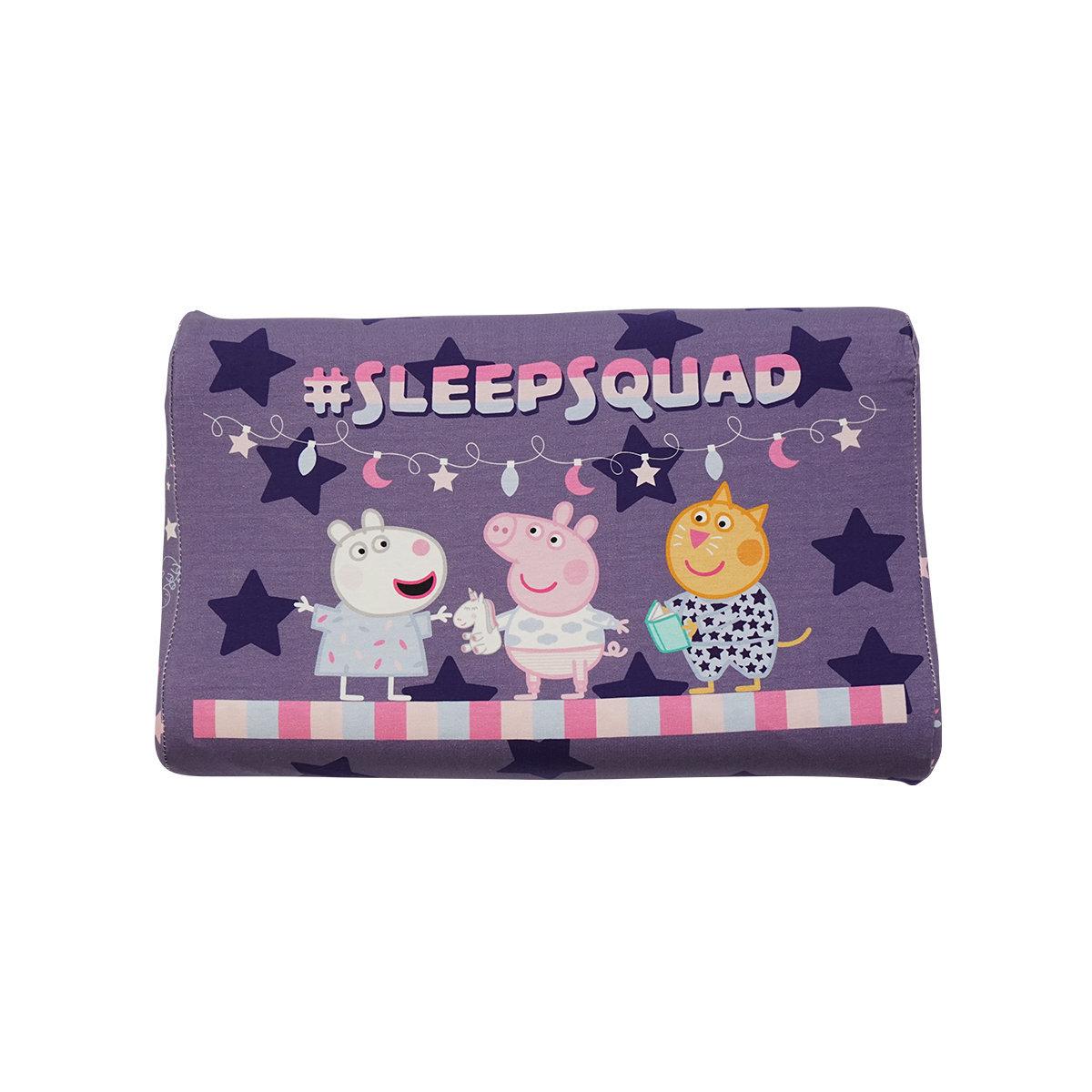Peppa Pig Latex Pillow U.7 (Age 1-4)(Light Purple)