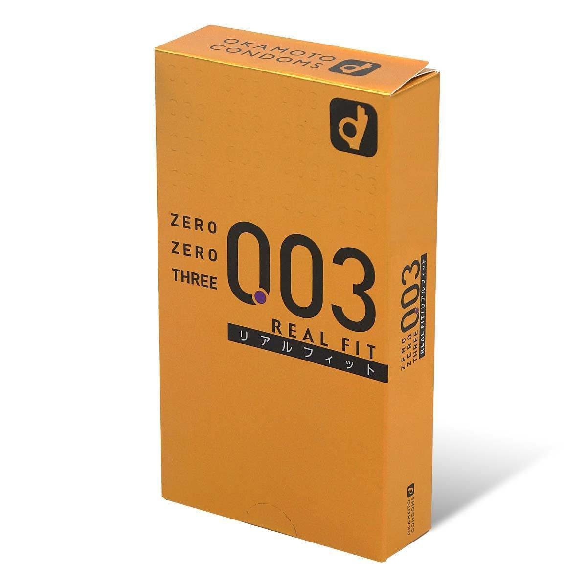 0.03 Real Fit condom 10 pcs  (Japan Version)