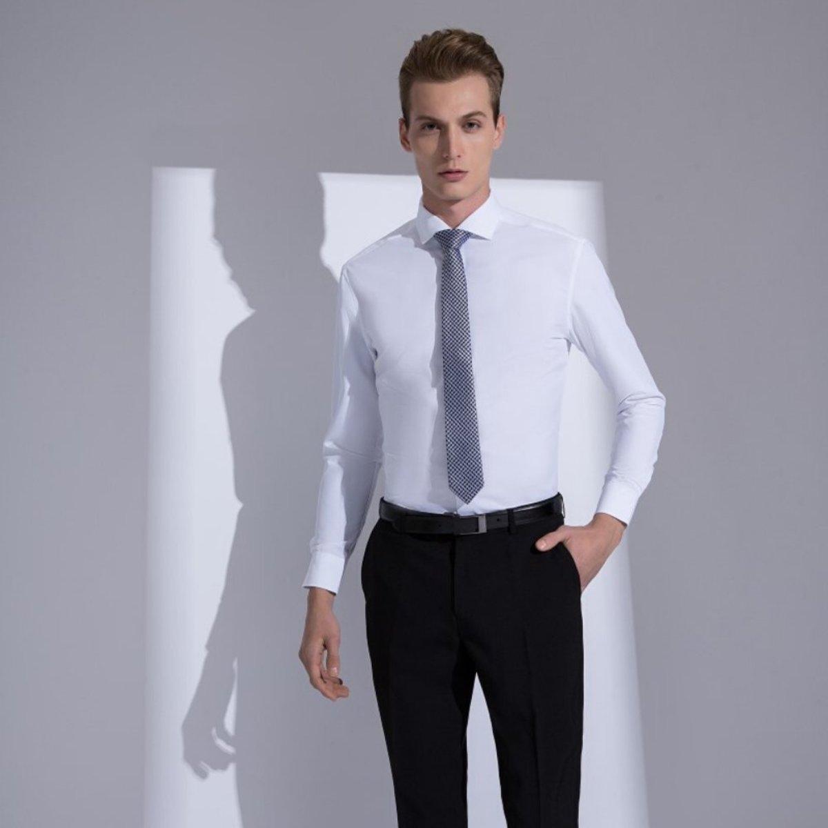 MEN'S DRY TECH POPLIN SHIRT(white)