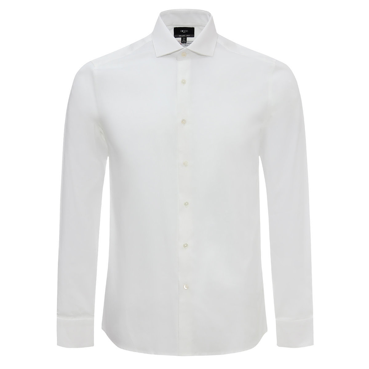 MEN'S 100% COTTON Long Sleeve Shirt(white)