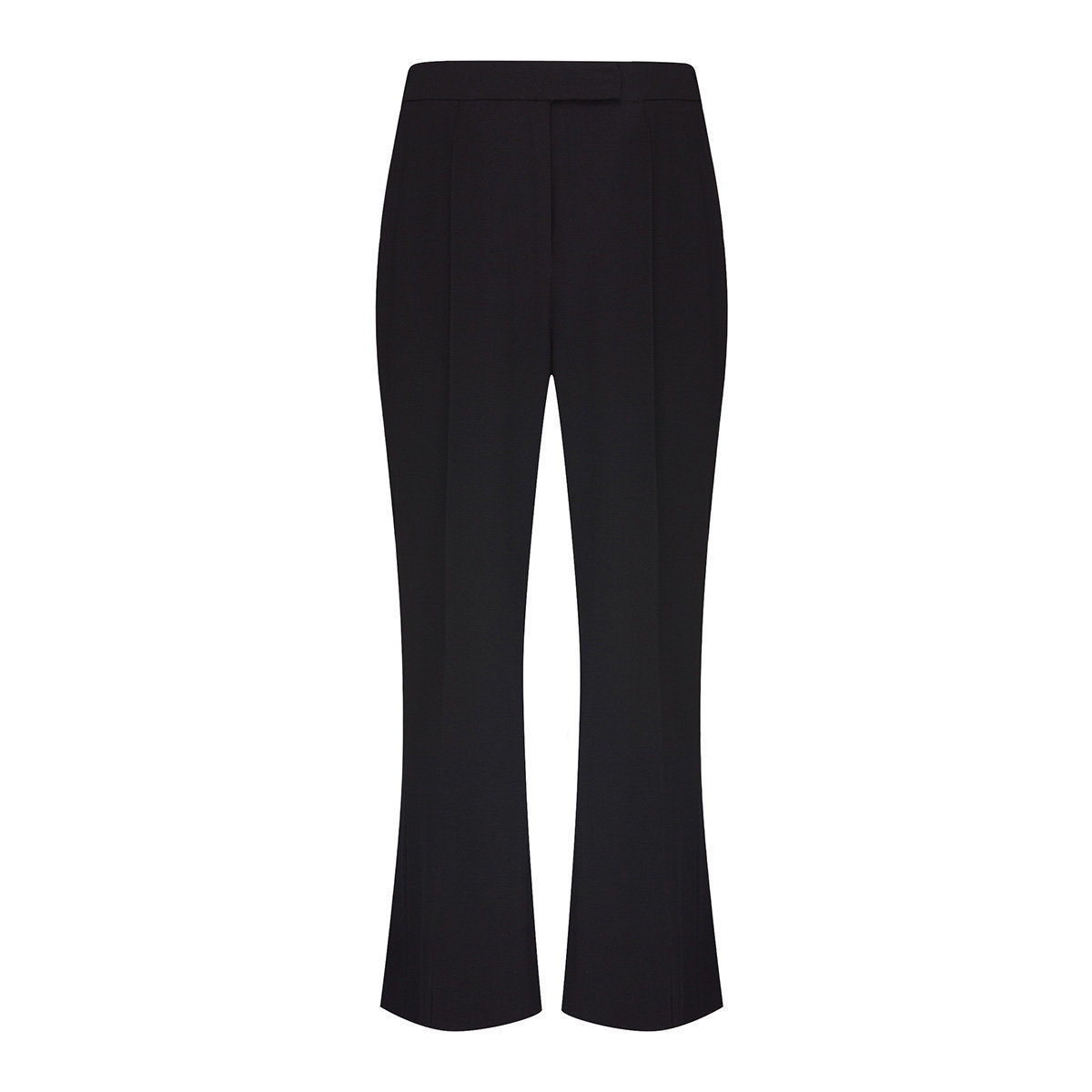 Women's Culottes with Back Slit (Black)