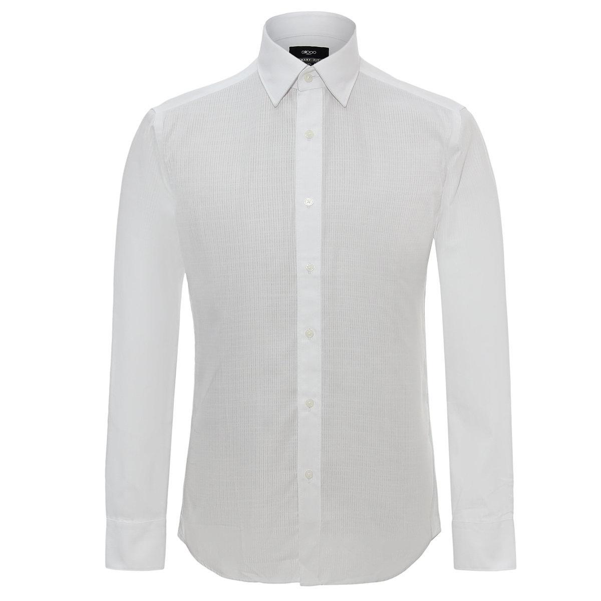 MEN'S LONG SHIRT(white)
