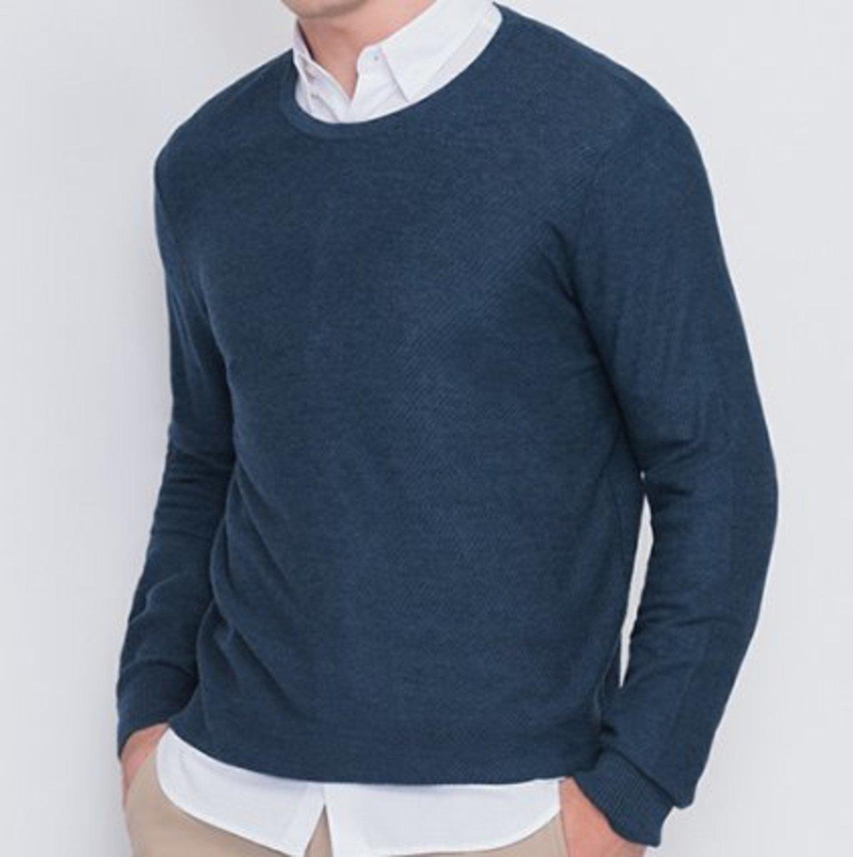 Men's Outlast® Temperature Regulating sweater (Pea Coat)
