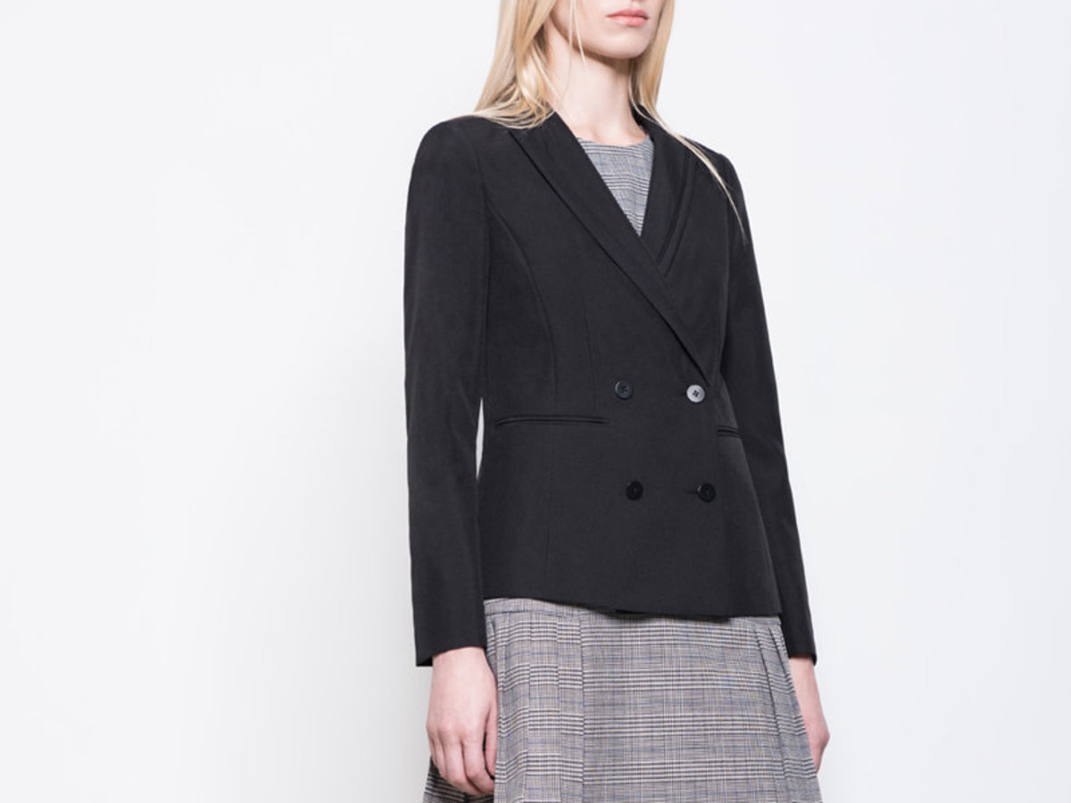 Women's Suit Blazer (Black)