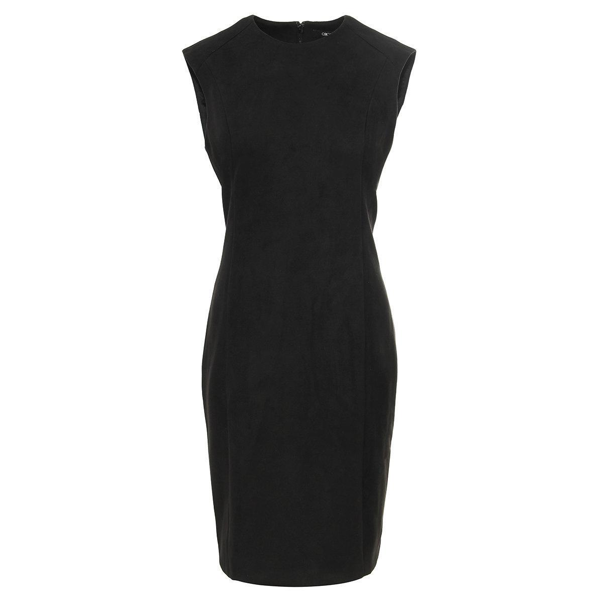 WOMEN'S SUEDE DRESS (Black)