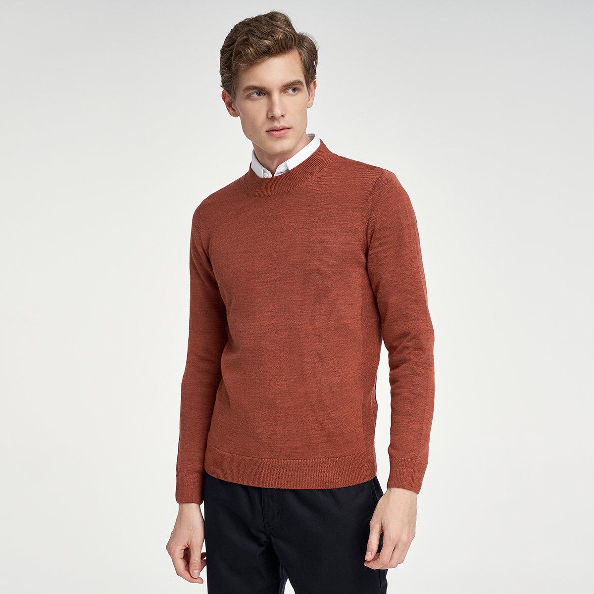 MEN'S SWEATER(brown)