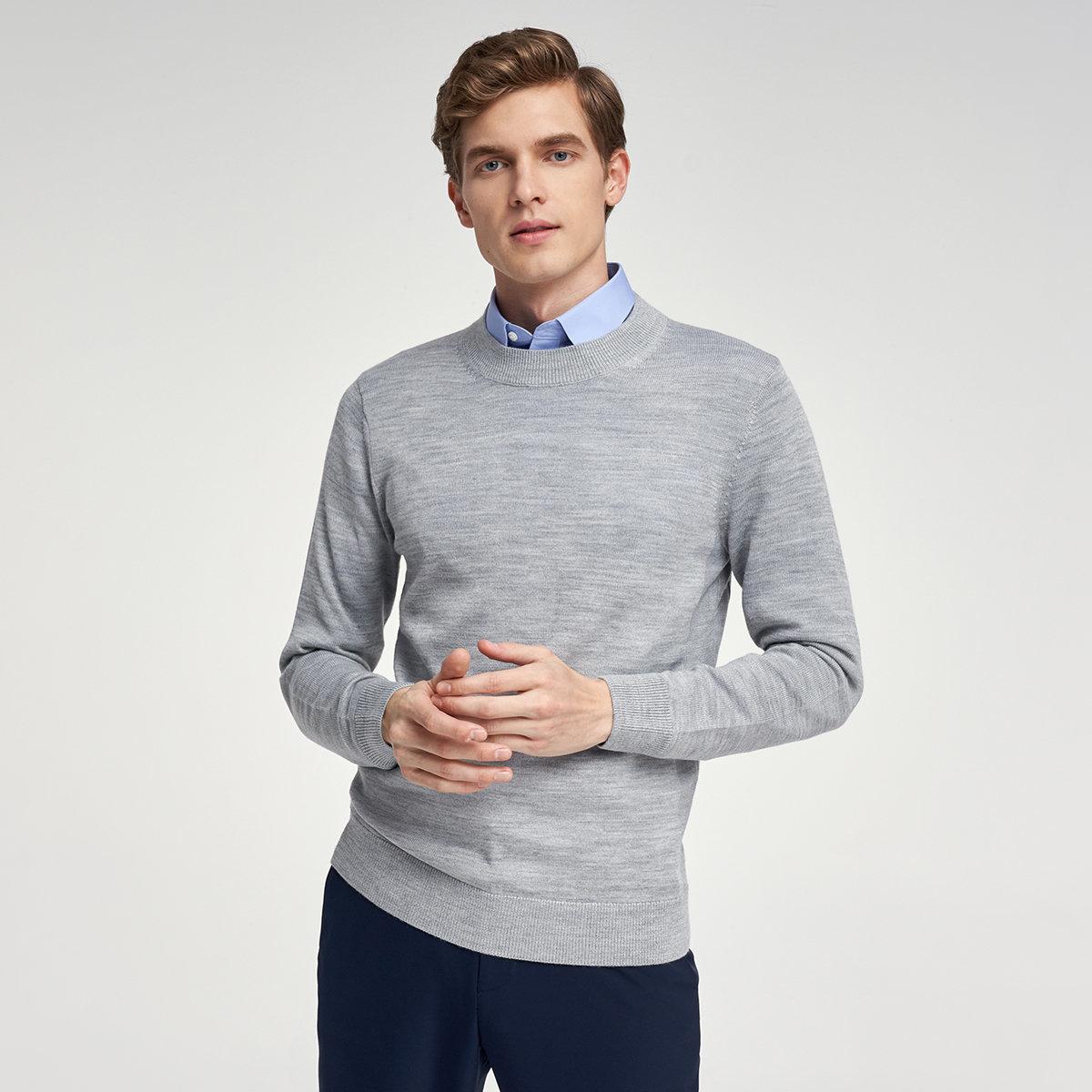 MEN'S SWEATER(gray)