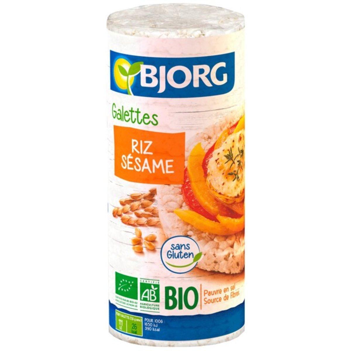 Sesame Rice Cakes(130g)-(1pc)-Belgium
