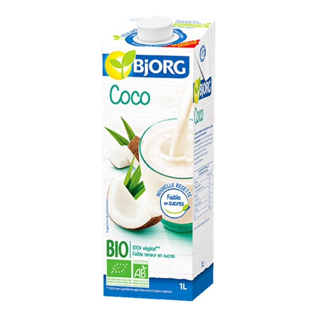 Organic Coconut milk drink(1L)-(1pc)-Italy BJ3014955 (Special offer)
