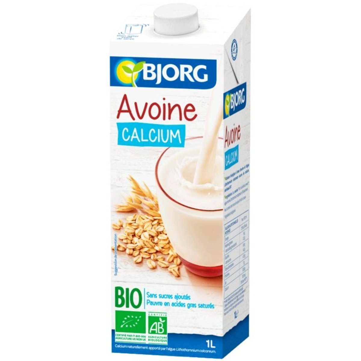 Organic Oat Drink with Calclum(1L)-(1pc)-Italy BJ3014957