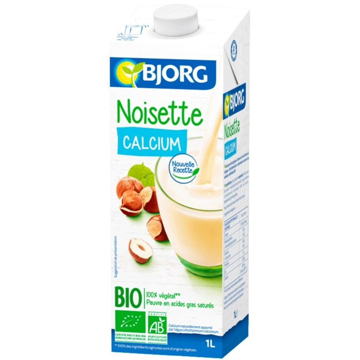 Organic Hazelnut Drink with Calclum(1L)-(1pc)-Italy BJ3015619