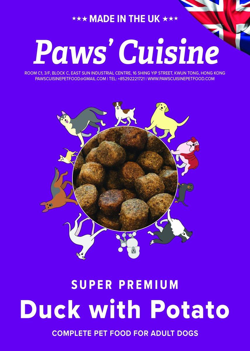 成犬 - 無穀物低敏配方 - 高級鴨肉配馬鈴薯, 4kg