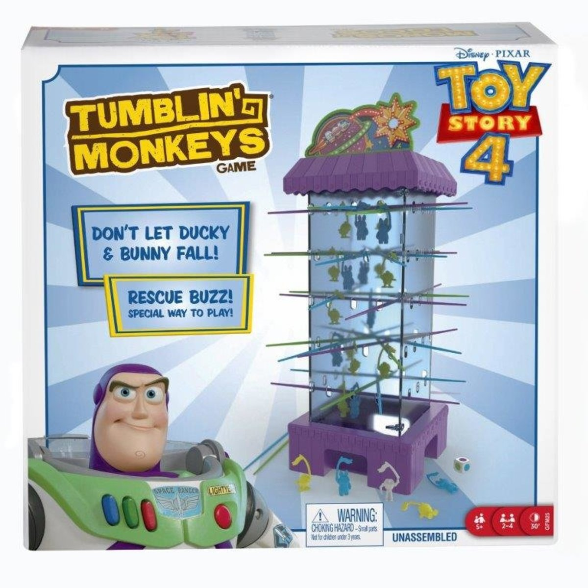 Toy Story 4 Tumblin' Monkeys Game