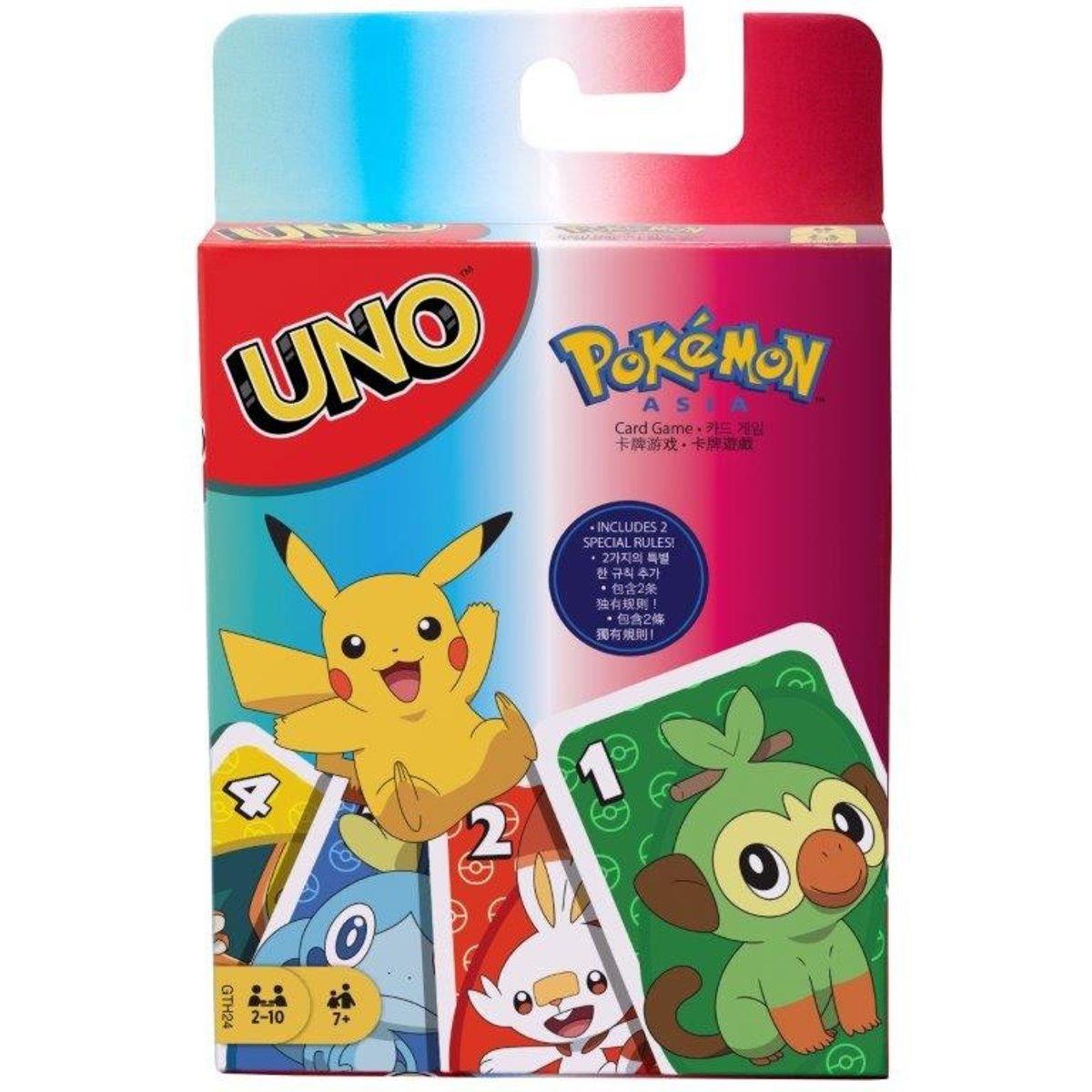 UNO Card Game (Pokemon) English Version