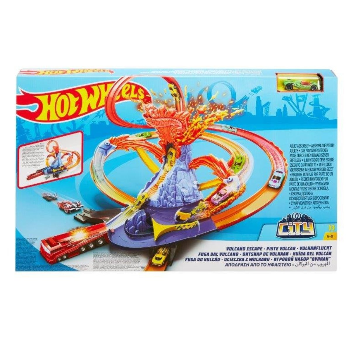 Hot Wheels Volcano Escape Play Set