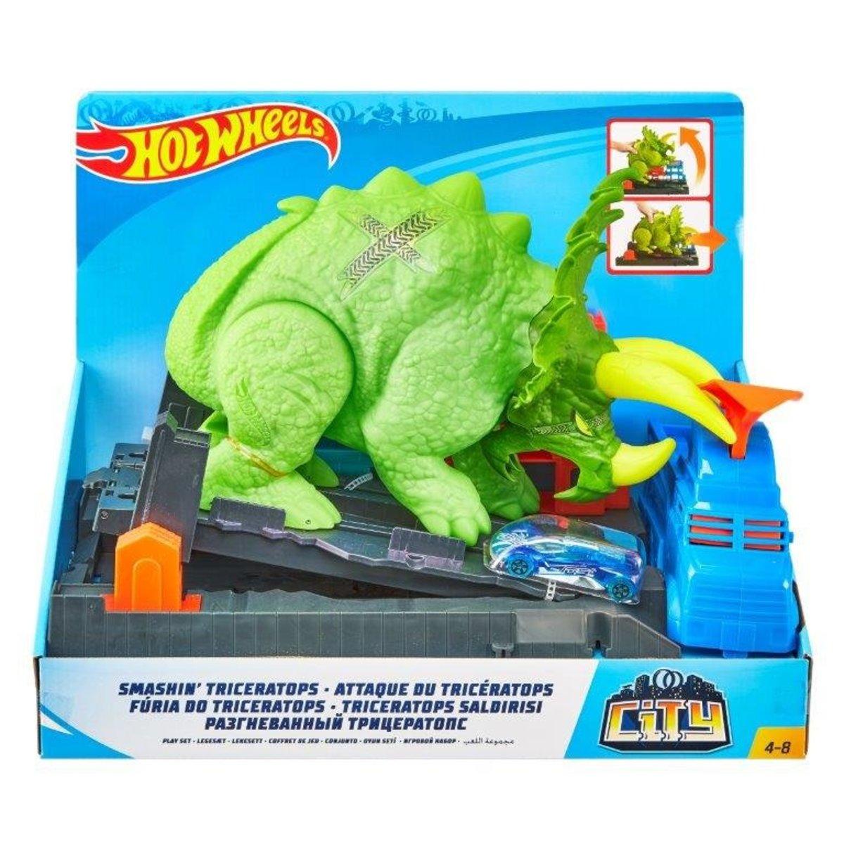三角恐龍突擊風火輪城市套裝