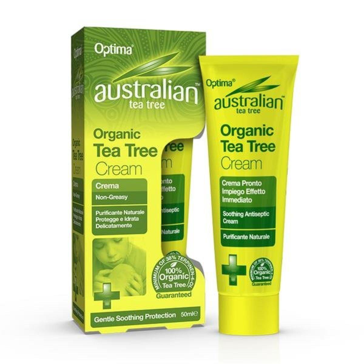 Australian Tea Tree Antiseptic Organic Tea Tree Cream