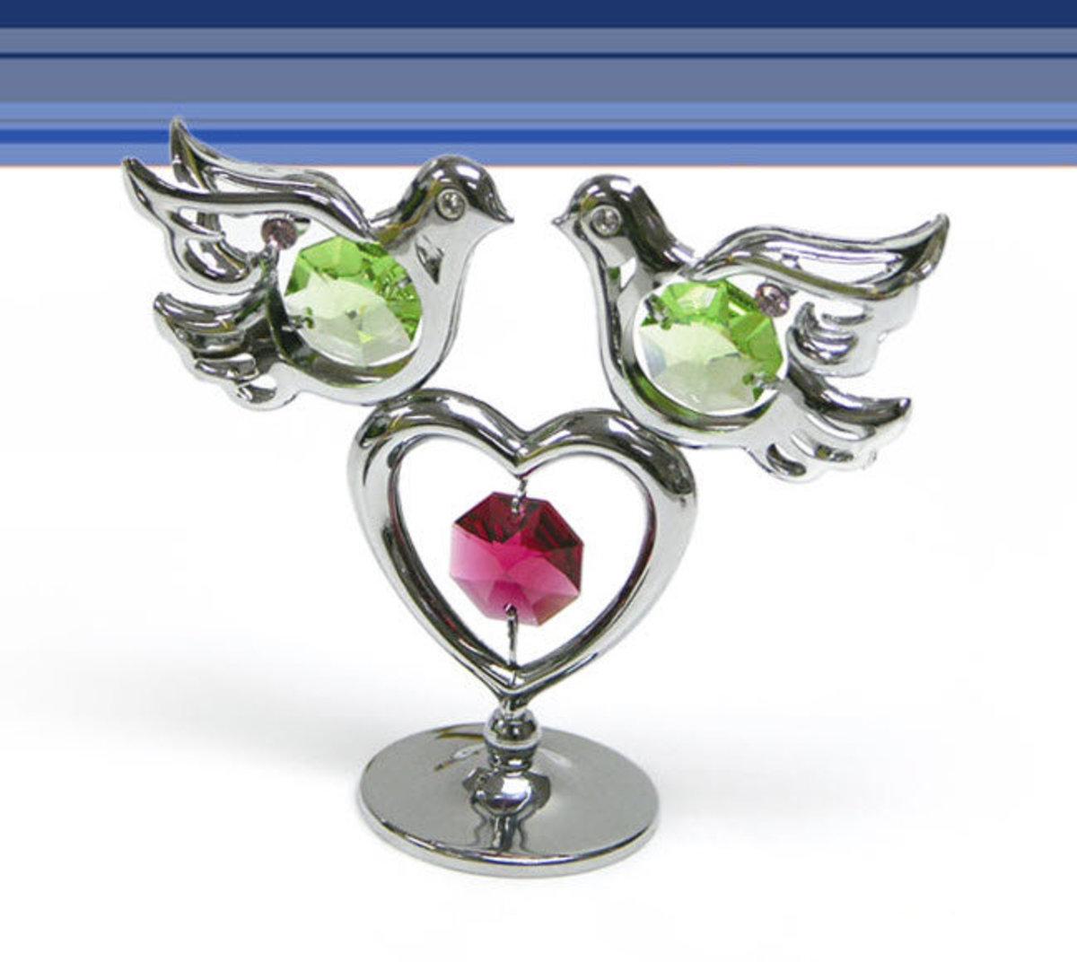 """Peaceful Heart "" Ornament"