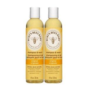 Burt's Bees 2 支 蜜蜂寶寶經典洗髮沐浴乳 235 毫升 2 樽 235 毫升