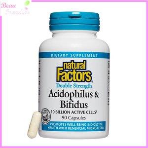 Natural Factors 強效活性乳酸菌 100 億 CFU 90 粒素膠囊 90 粒素膠囊