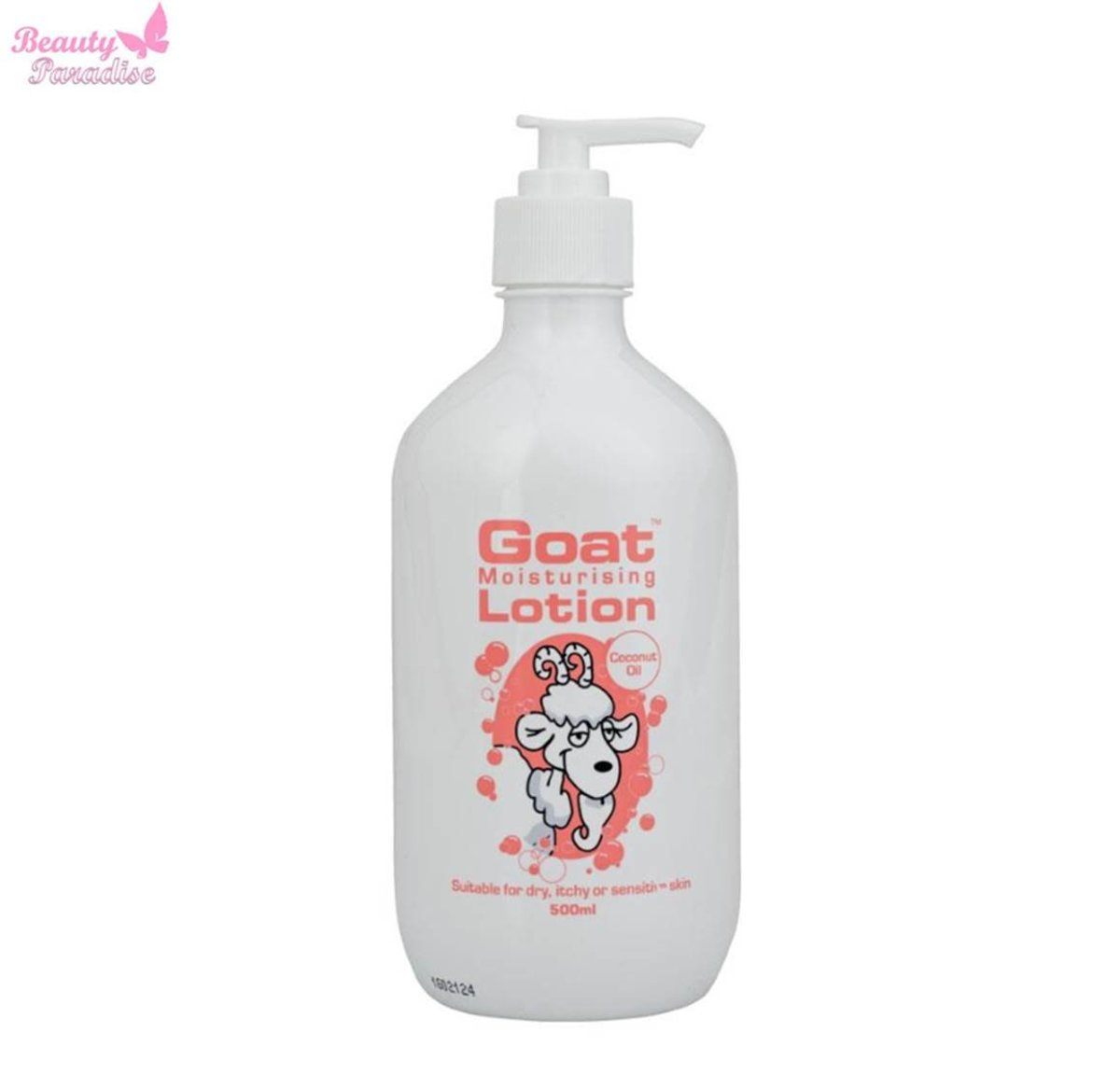Goat Moisturising Lotion with Coconut Oil 500 ml