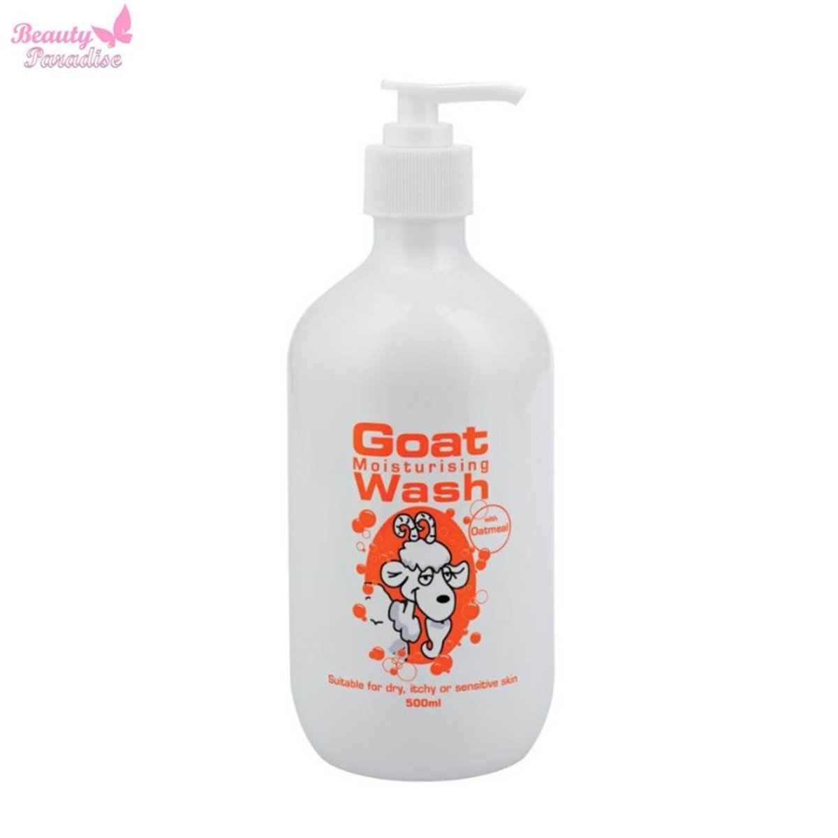 Goat Mositurising Body Wash With Oatmeal 500 ml