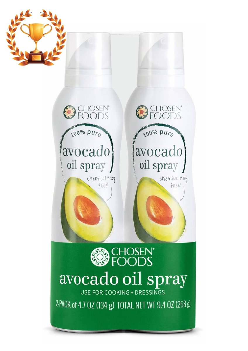 Set-100% Pure Avocado Oil Spray (134ml x 2) - Parallel Import