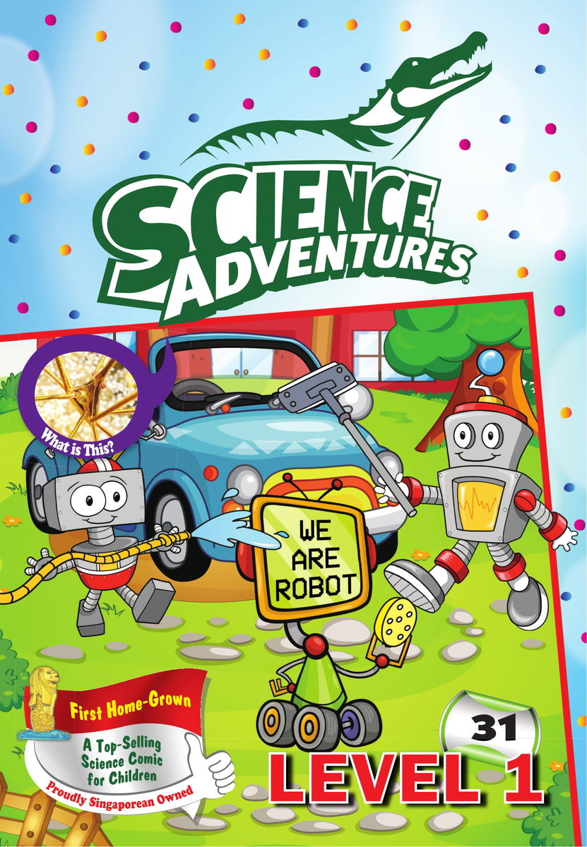 Science Adventures 2016 Level 1 (issue no.31 - 40)