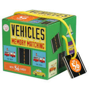 Silver Dolphin Books 【正版正貨】Games on the Go!: Vehicles Memory Matching