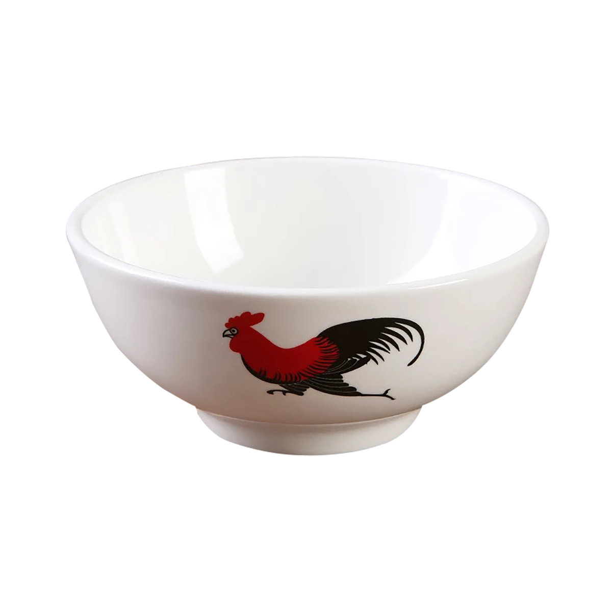 Magnesium porcelain chicken 4.5 inch wing bowl [6 Pack]