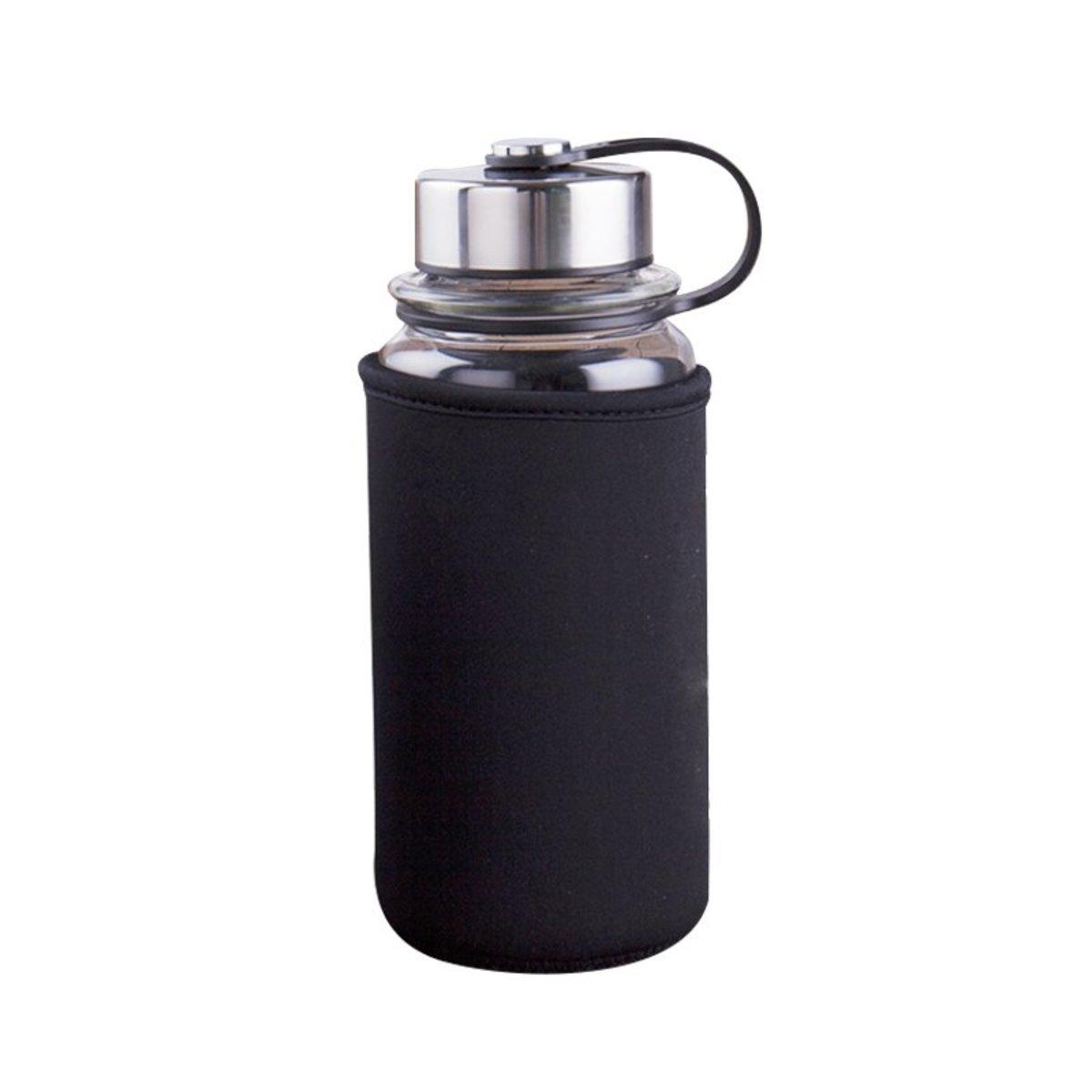 高硼硅玻璃便攜水樽 (1000ml)