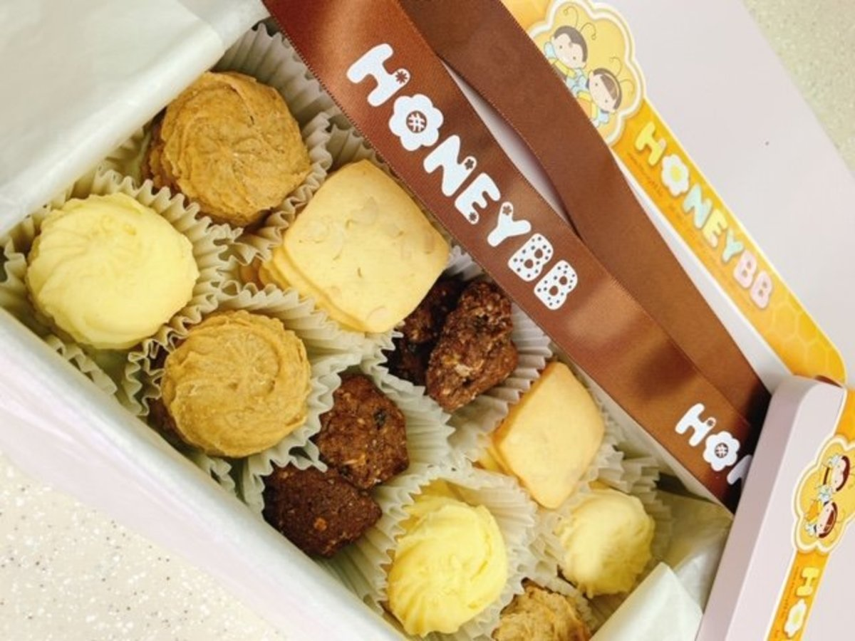 Assorted Cookies x 2 Boxes (4-taste)