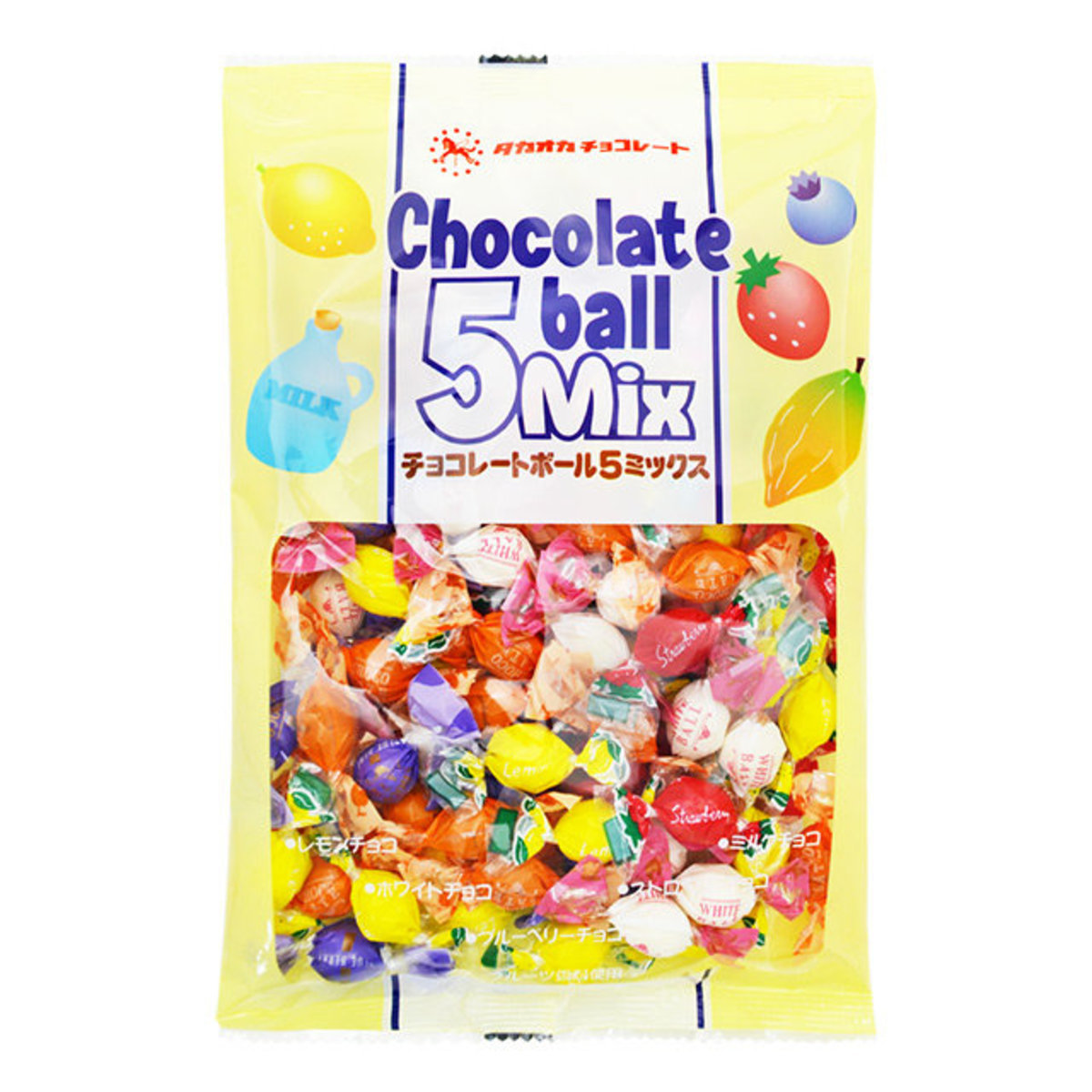 Chocolate balls 5MIX 155g (parallel import)