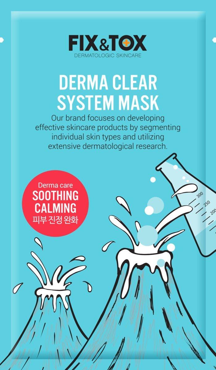 Derma Clear System Mask (7pcs)