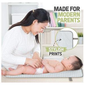 Living Store 嬰兒可擕式換尿墊-弓箭款