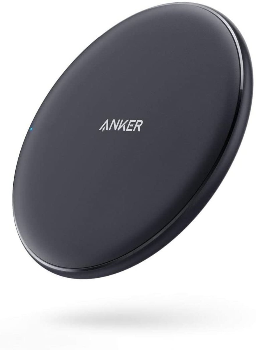 Wireless Charger, 10W Fast-Charging Power Wave Pad