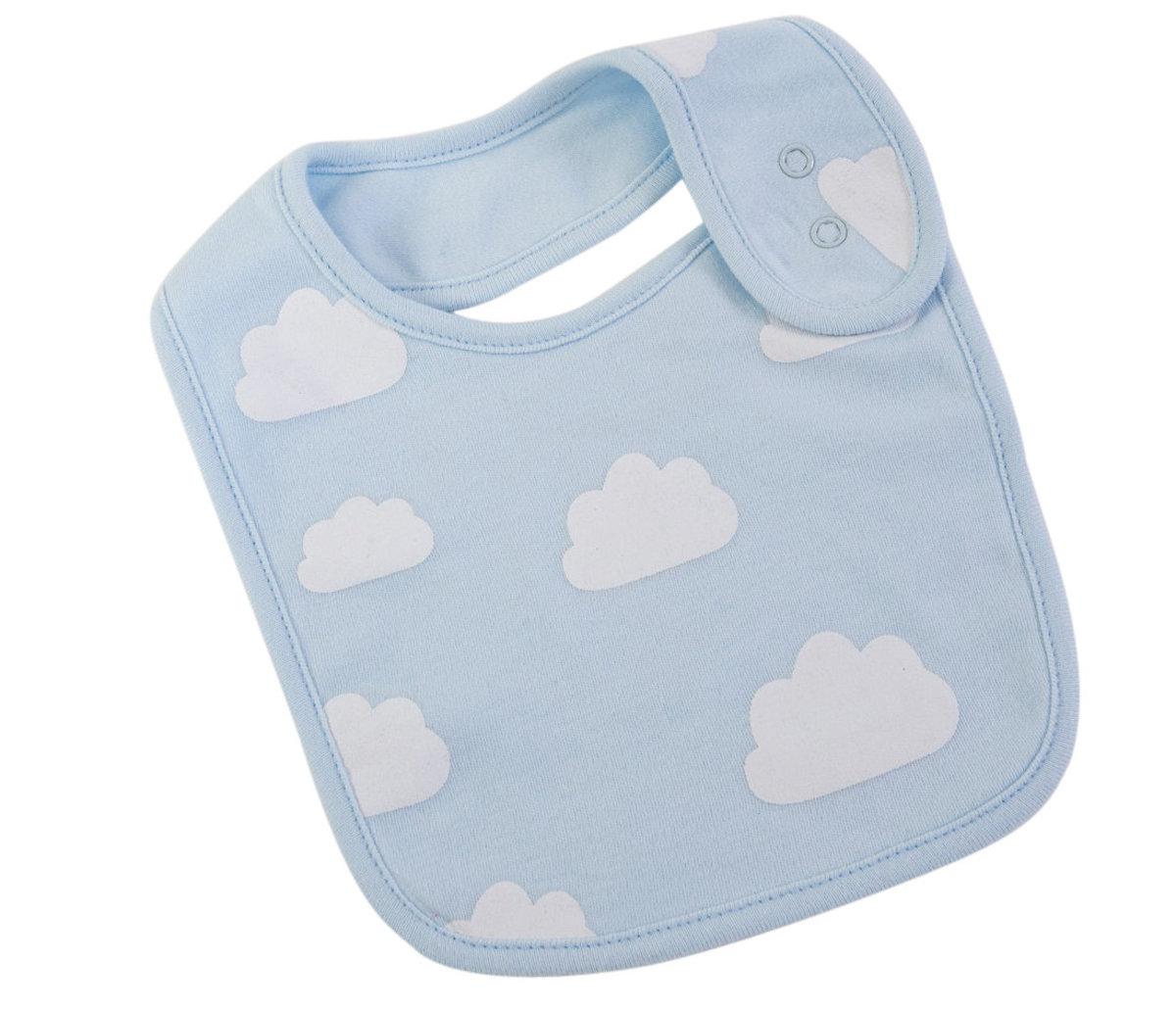 Blue Clouds Bib