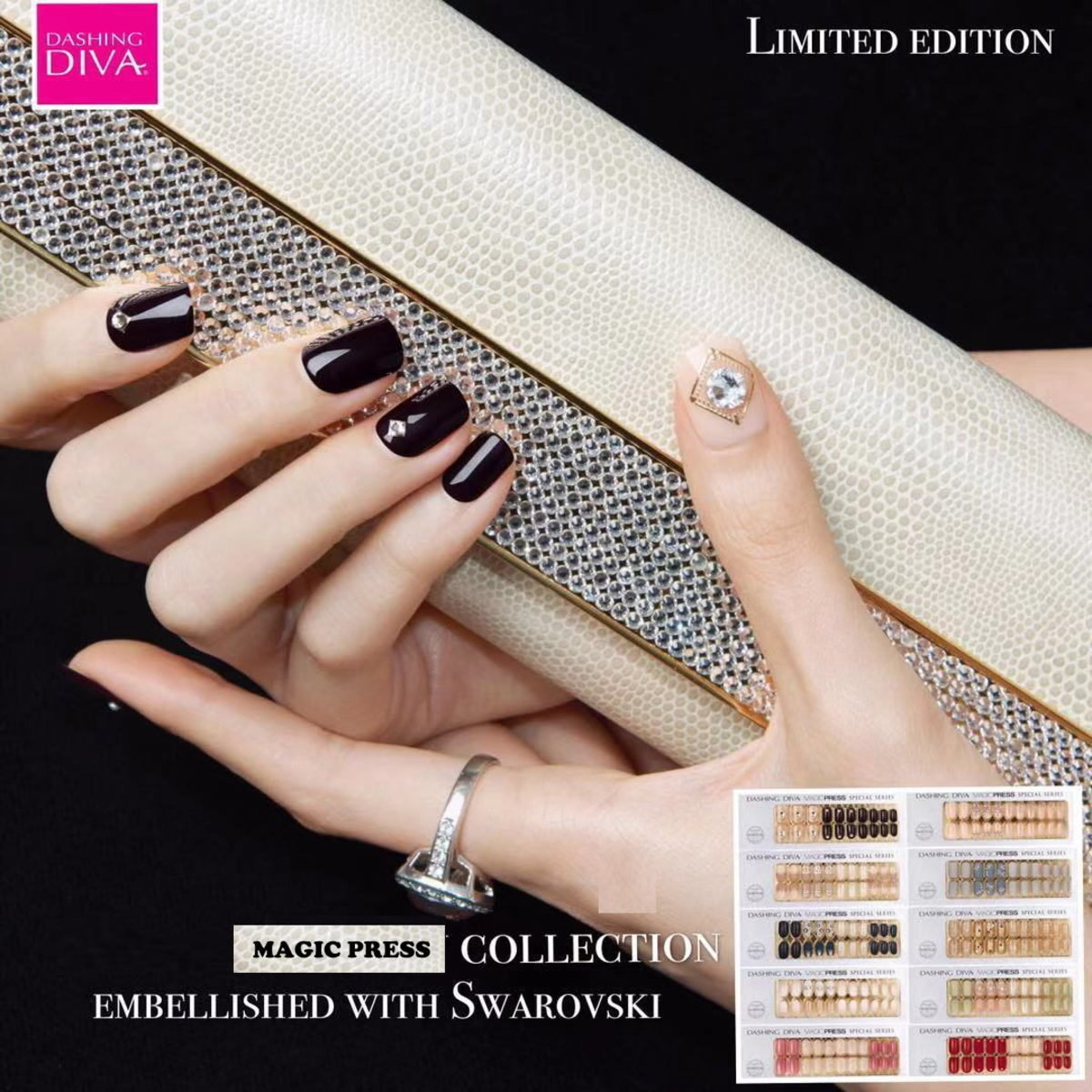 Magic Press Limited Edition SET Embellished with Crystals from Swarovski