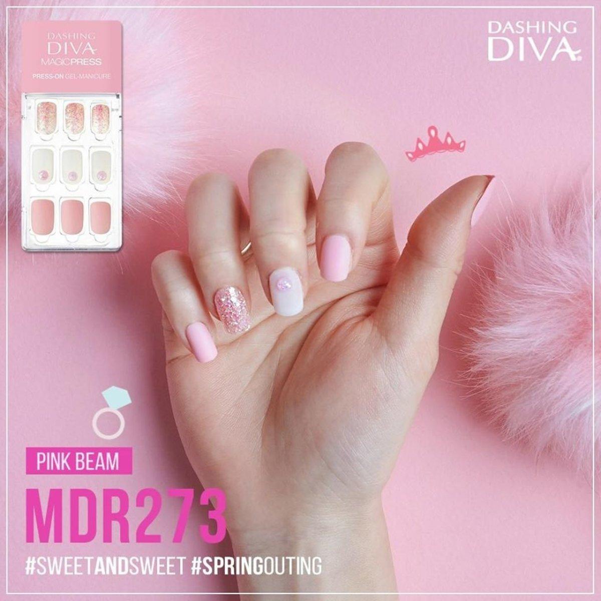 Magic Press MDR273 Slim Fit -Pink Beam