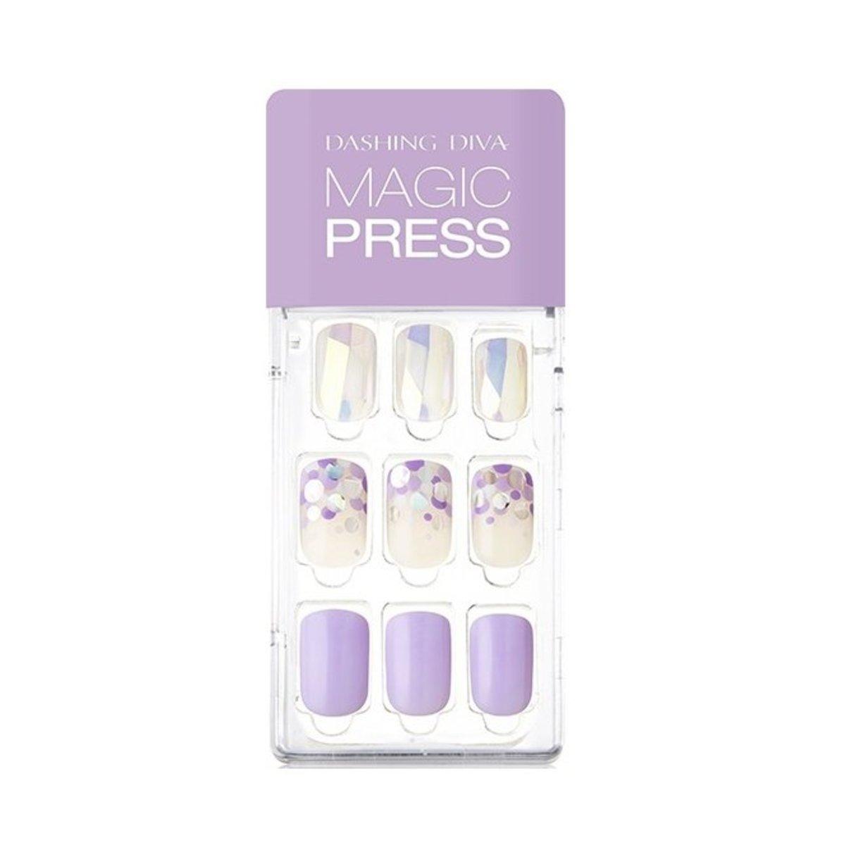 Magic Press MDR433  光療超薄型美甲片- 閃亮薰衣草