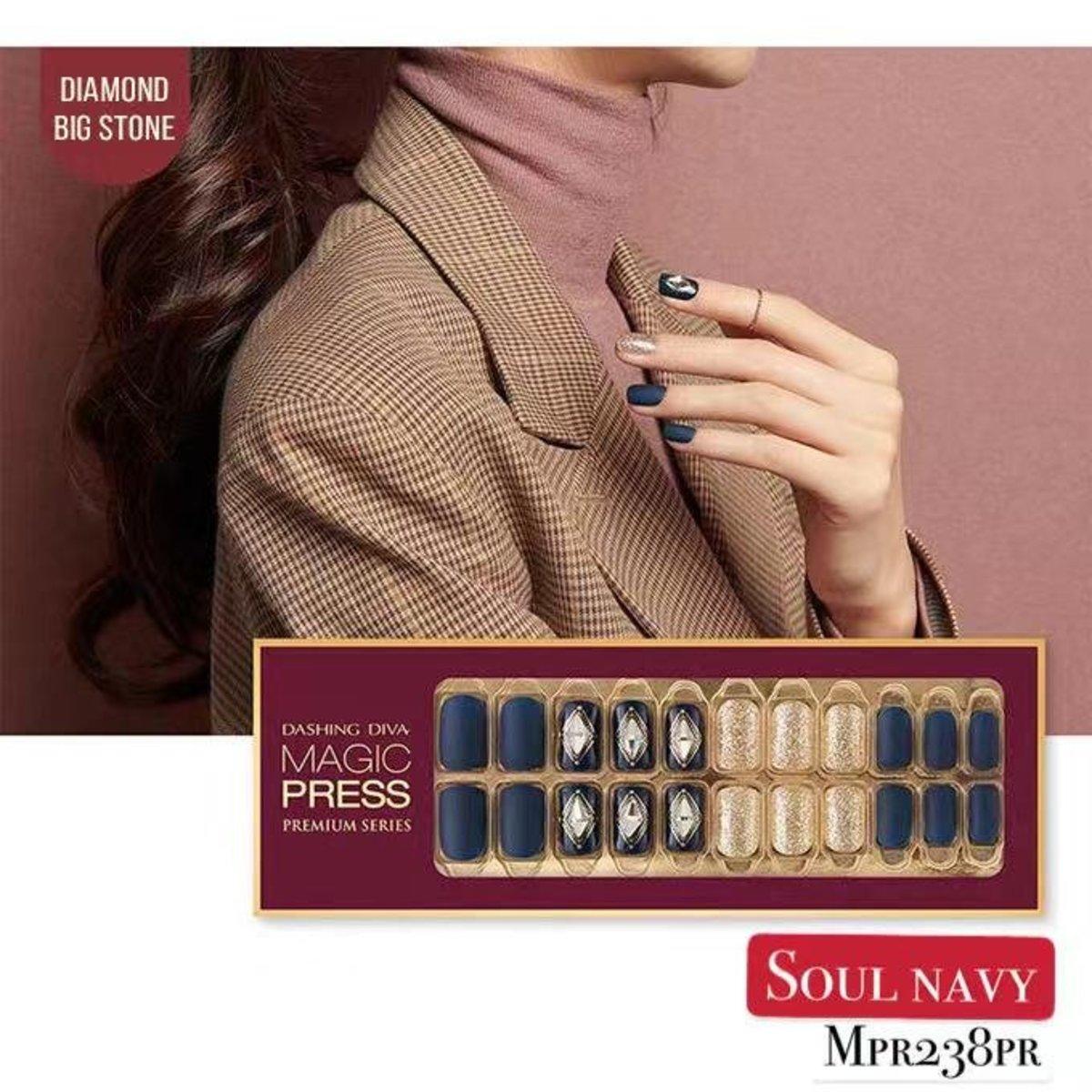 Magic Press MPR238PR Premium Super Slim Fit - Glam Move Collection (Limited Edition) Soul Navy