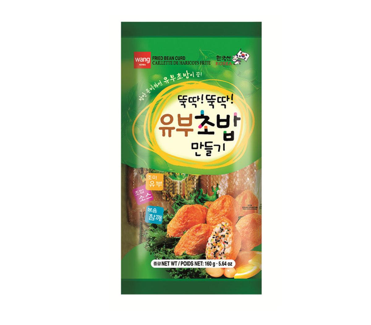 Fried Bean Curd韓國三角腐皮壽司材料包(2人份)